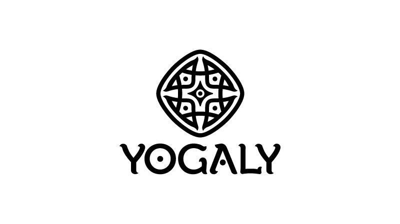 Yogaly design loga a identity znacky