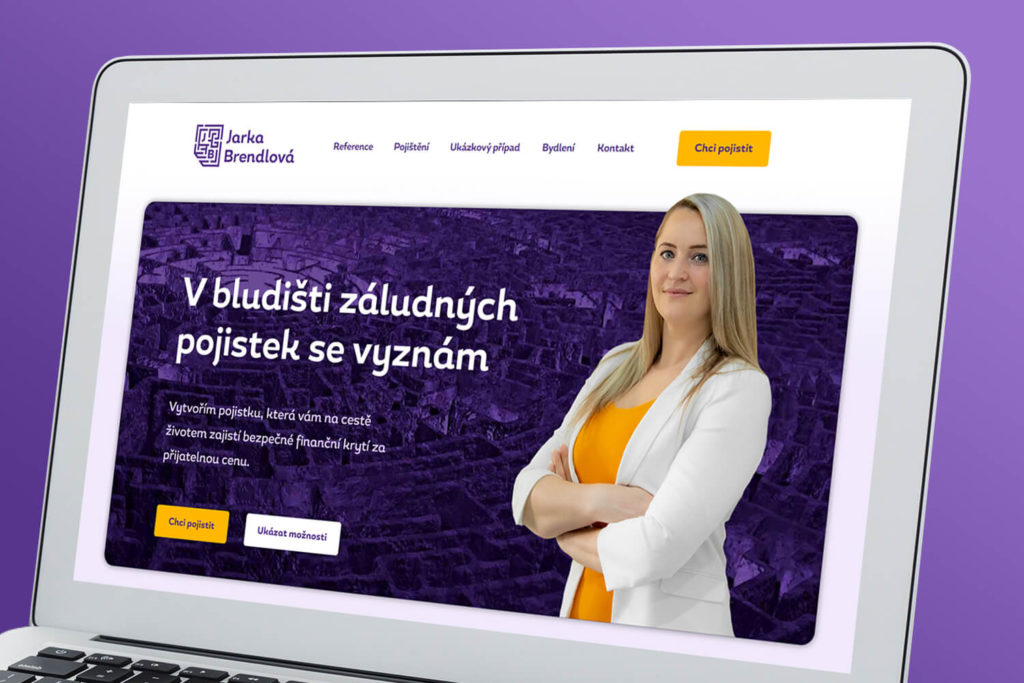 design webu jarka brendlova