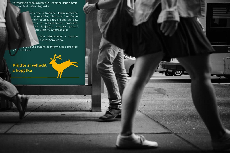 Vizuální styl Semily - tiskoviny, outdoor plakát